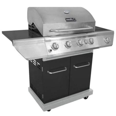 nexgrill 4 burner propane gas grill with searing side