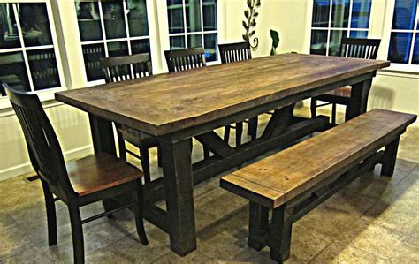 barnwood dining room tables barnwood dining room table createfullcircle com