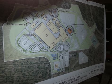 Fab Site Dvfprojectscom by Globalfoundries Building Project Approved The Saratoga