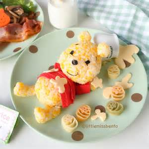 Japanese Party Decorations Winnie The Pooh Rice Tableware Little Miss Bento