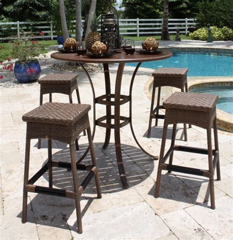 wood pub table and chairs pub table sets wood metal glass rattan bar table and