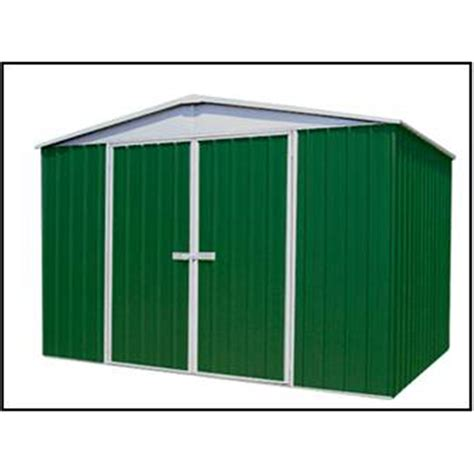 12 X 9 Shed Price by 9 10 X 12 Premier Regent Eucalyptus Metal Garden Shed 3m X 366m Best Price From I Like Sheds