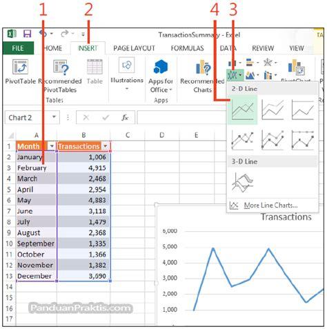 membuat flowchart di excel 2013 cara membuat grafik chart di excel 2013
