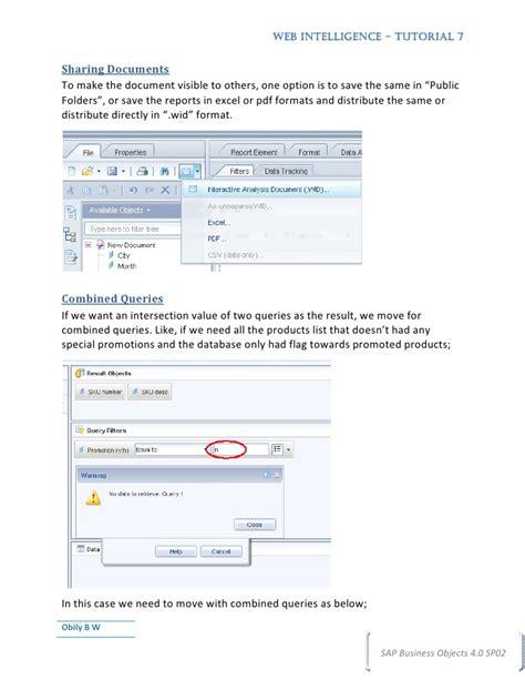 web intelligence tutorial pdf web intelligence tutorial7
