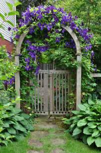 Garden Gate Trellis Arbor Gate On