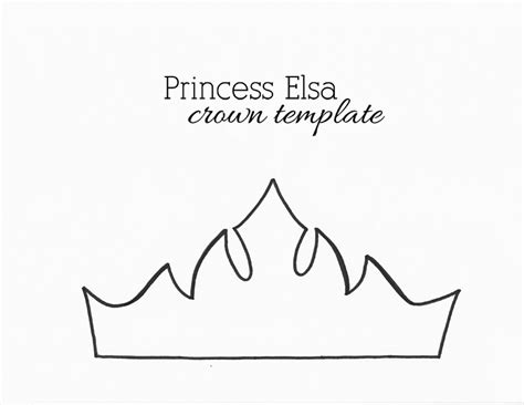 Paper Crown Template by Paper Crown Templates For Prince Princes Print Cut At