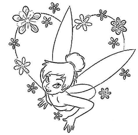 Free Printable Tinkerbell Coloring Pages For Kids Coloring Pages For To Print