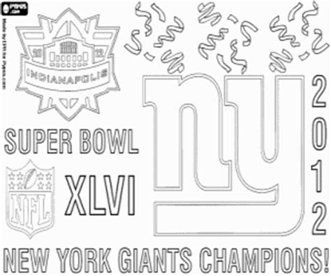American Football Coloring Pages Printable Games Ny Giants Coloring Pages