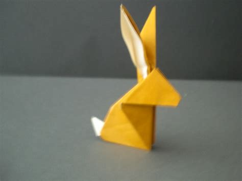 How To Fold Origami - 3d origami bunny www imgkid the image