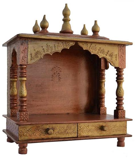 home vastu tips for placing a wooden temple at home