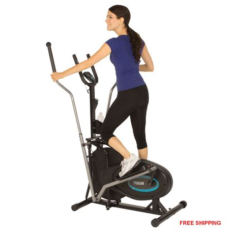 elliptical exercise indoor fitness trainer workout machine