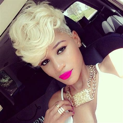 black womens hair to platinum blonde 2017 hair color trends for black women new haircuts to