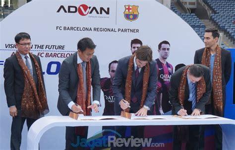 Advan Barcelona advan tandatangani kontrak dengan fc barcelona jagat review