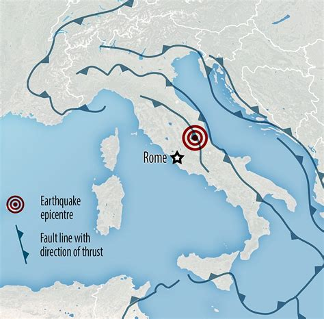 earthquake fault lines map survivors of italy s devastating earthquake wrap up for a