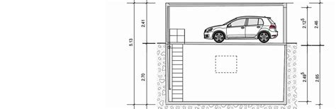 garage zeichnung den raum 252 ber und unter garagen nutzen garagen welt