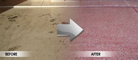 Garage Floor Paint Before And After The American Leader Of High Quality Garage Interiors