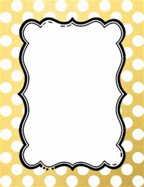 Instan Luris Polka black and white polka dot border 15 colors available free instant page borders