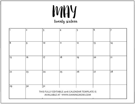 printable editable calendars download editable monthly calendar template gantt chart