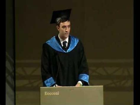 test ingresso bocconi 2014 alessandra cestaro discorso di laurea bocconi 2013youtube