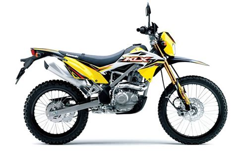 motor kawasaki klx bf 150 2017 warna baru kawasaki klx 150 bf versi 2017 warna kuning