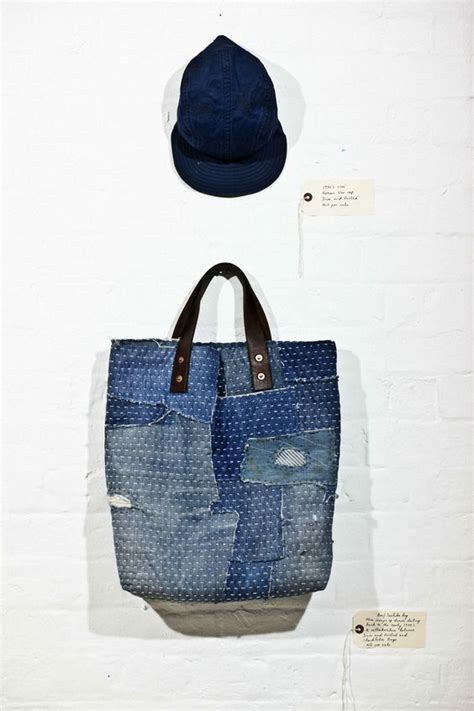 That Bag Is Fantastic by Fantastic Patched Mended Denim Bag Darn And Dusted