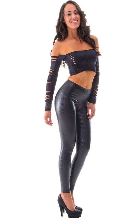 look legging in vinyl clothing women womens leggings fashion tights in super stretch vinyl