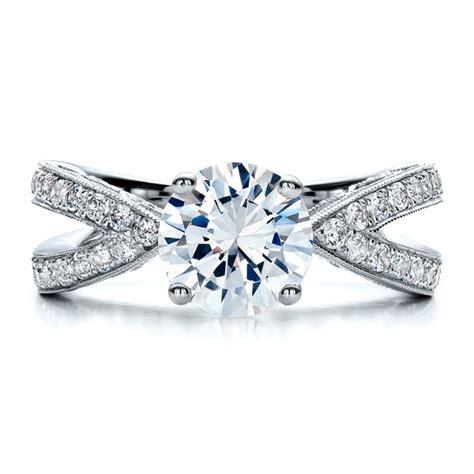 split shank engagement ring vanna k 100110