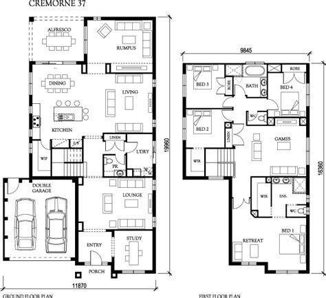 mirvac homes floor plans mirvac house plans house interior
