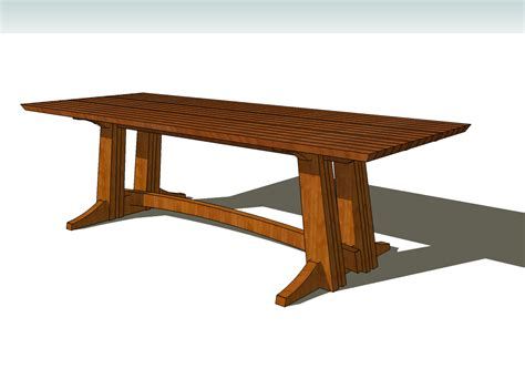 a trestle table idvw design building a large trestle table part 1
