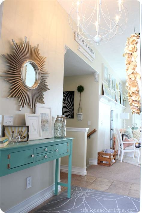 Hallway Table Decor 20 Best Images About Entryway On Pinterest Doors Front Doors And Paint Colors