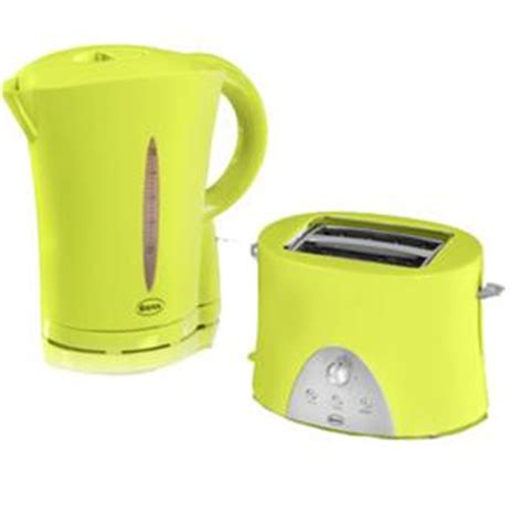 Light Green Toaster Swan Lime Green Kettle And Toaster St10030limn