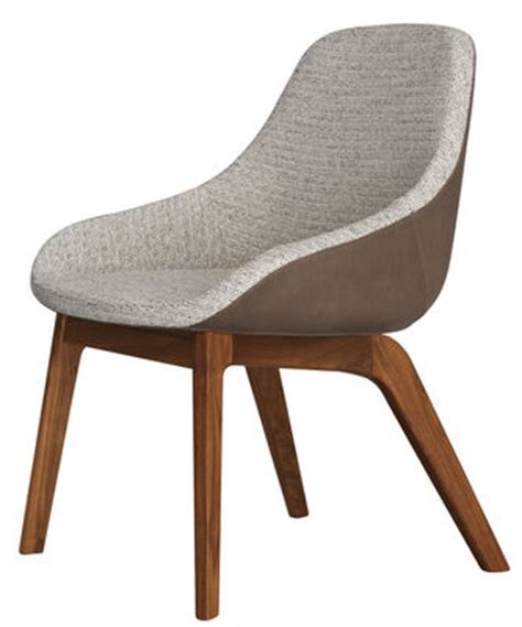 Fauteuil Tissu 1944 by Fauteuil Rembourr 233 Morph Dining Dossier Cuir Noyer