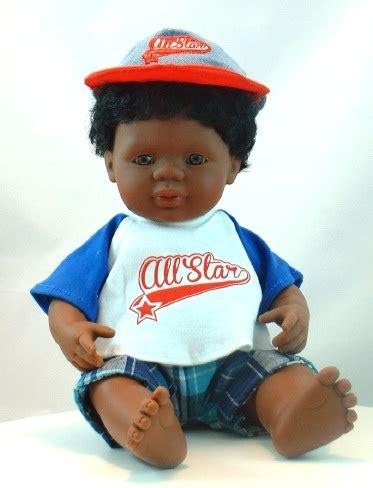black doll boy black baby boy doll with hair
