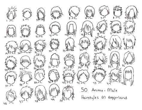 anime hairstyles for guys anime hairstyles for guys drawings