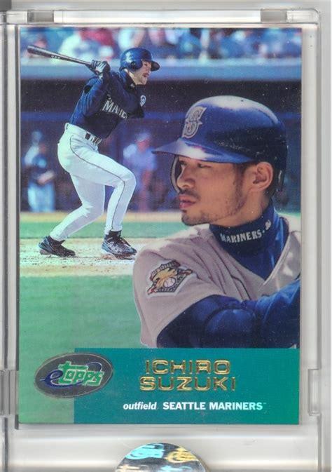 Ichiro Suzuki Rookie Card Ichiro Suzuki Rookie Card Etopps Cards