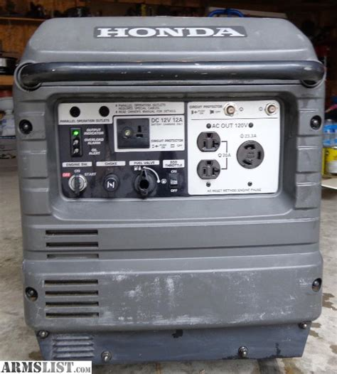 honda 3000is generator no