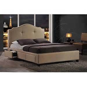 baxton studio armeena upholstered storage bed with