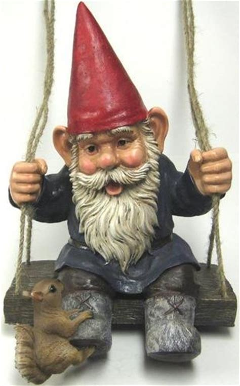 swinging gnome 14 best images about gnome garden ideas on pinterest