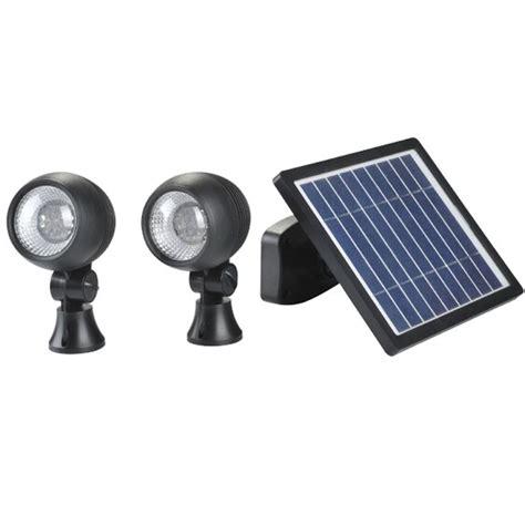 Solar Spotlights Custodian Double Solar Spot Lights Uk