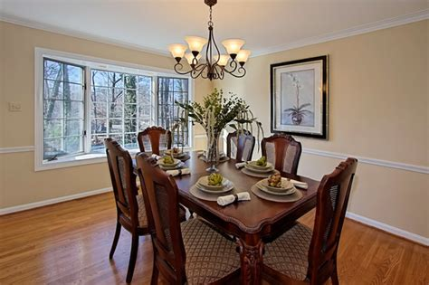 vienna home staging traditional dining room dc metro