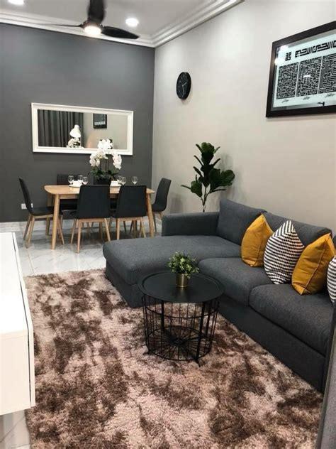 gambar idea dekorasi ruang tamu kecil sederhana
