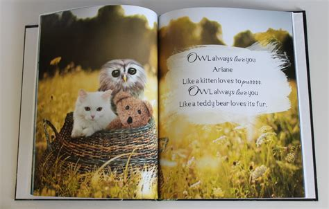 libro the owl who was libro personalizado quot owl always love you quot sorteo yosoymami