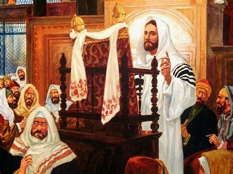 imagenes de jesus leyendo en la sinagoga formaci 243 n pastoral para laicos jes 250 s ense 241 a con autoridad