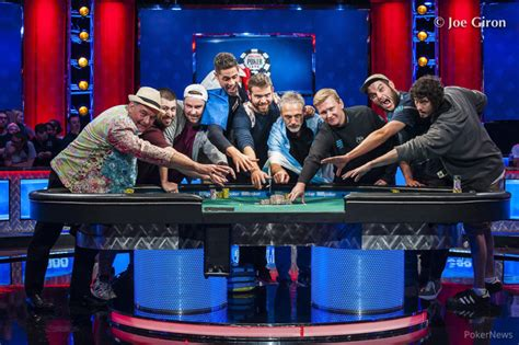 wsop event table 2017 2017 wsop event table is set casino