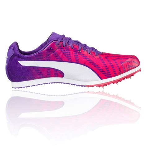 womens track shoes with spikes evospeed 5 womens purple running spikes track