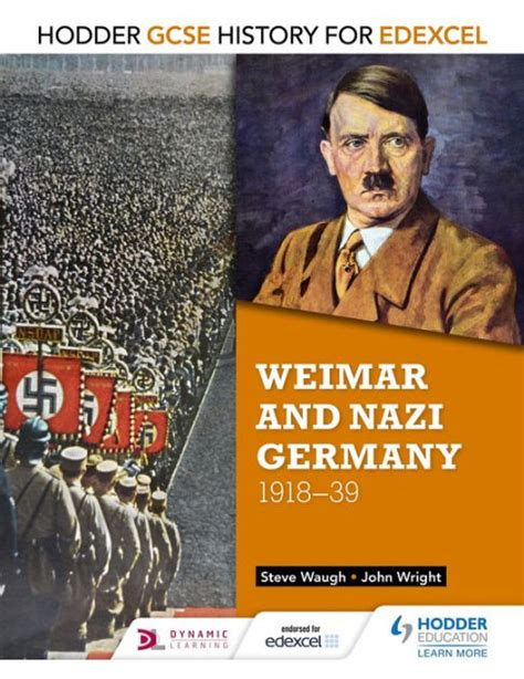 libro history for edexcel a hodder gcse history for edexcel weimar and germany 1918 39 by john wright steve waugh