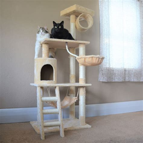 pet club cat tree review affordable  cat approved