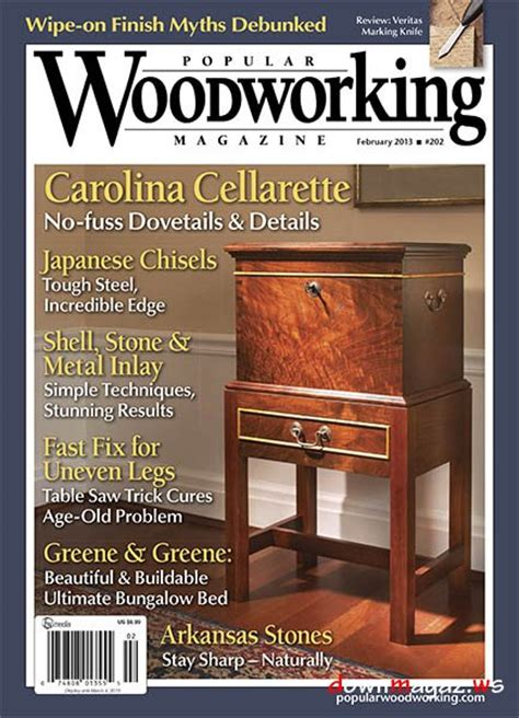 best woodworking magazines popular woodworking 202 187 pdf magazines