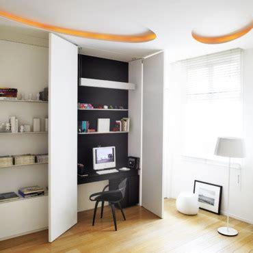 5 astuces déco pour cacher un bureau dans un placard