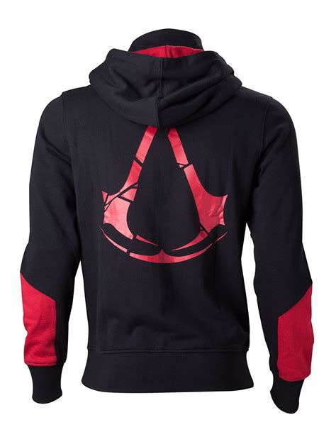 Hoodie Assassins Creed 4 Salsabila Cloth assassin s creed rogue black hoodie merchoid